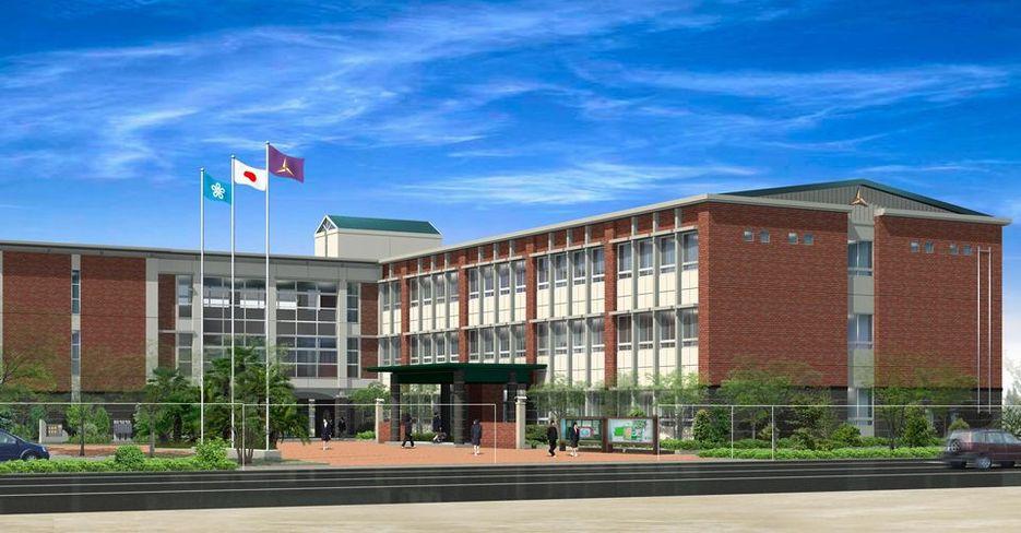 伝習館高校管理特別教室棟改築